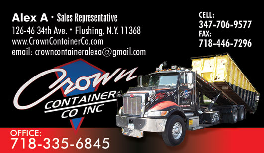 Garbage Collector in New York