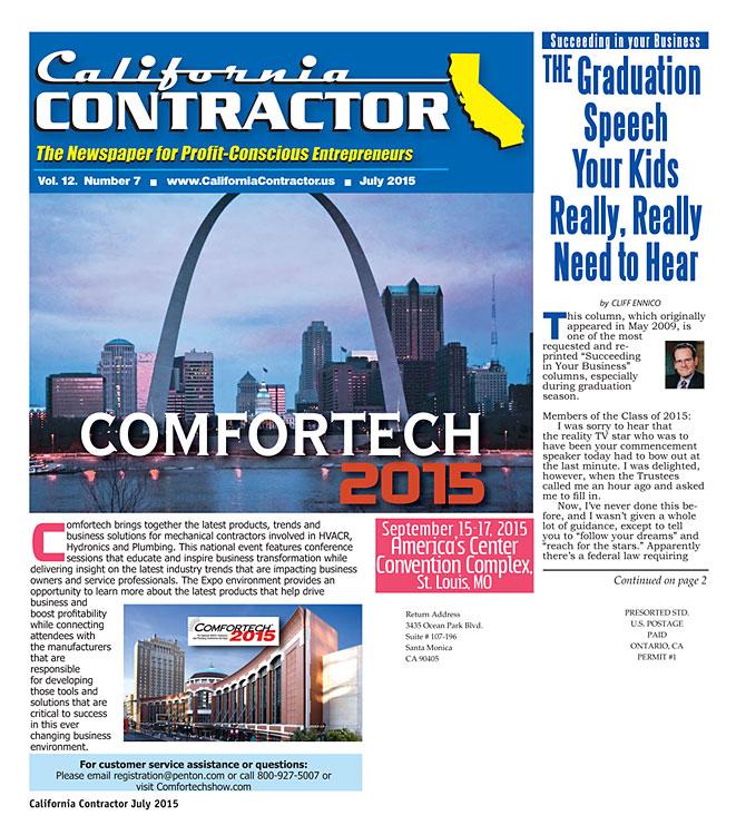 California Contractor Magazine